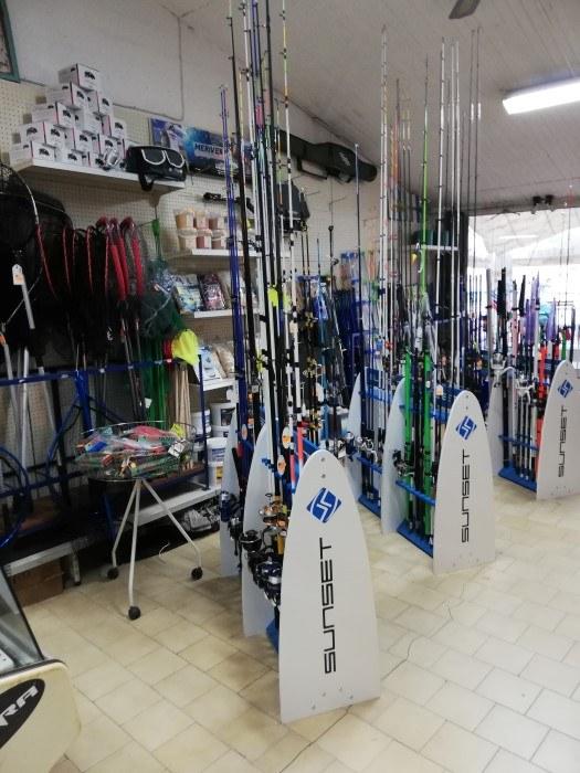 Trouvez tout le matériel de pêche Chez Panis Sébastien à Valras-Plage4