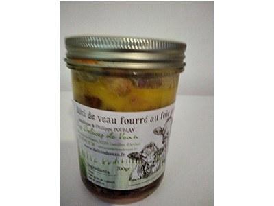Rôti de veau fourré au foie gras -01