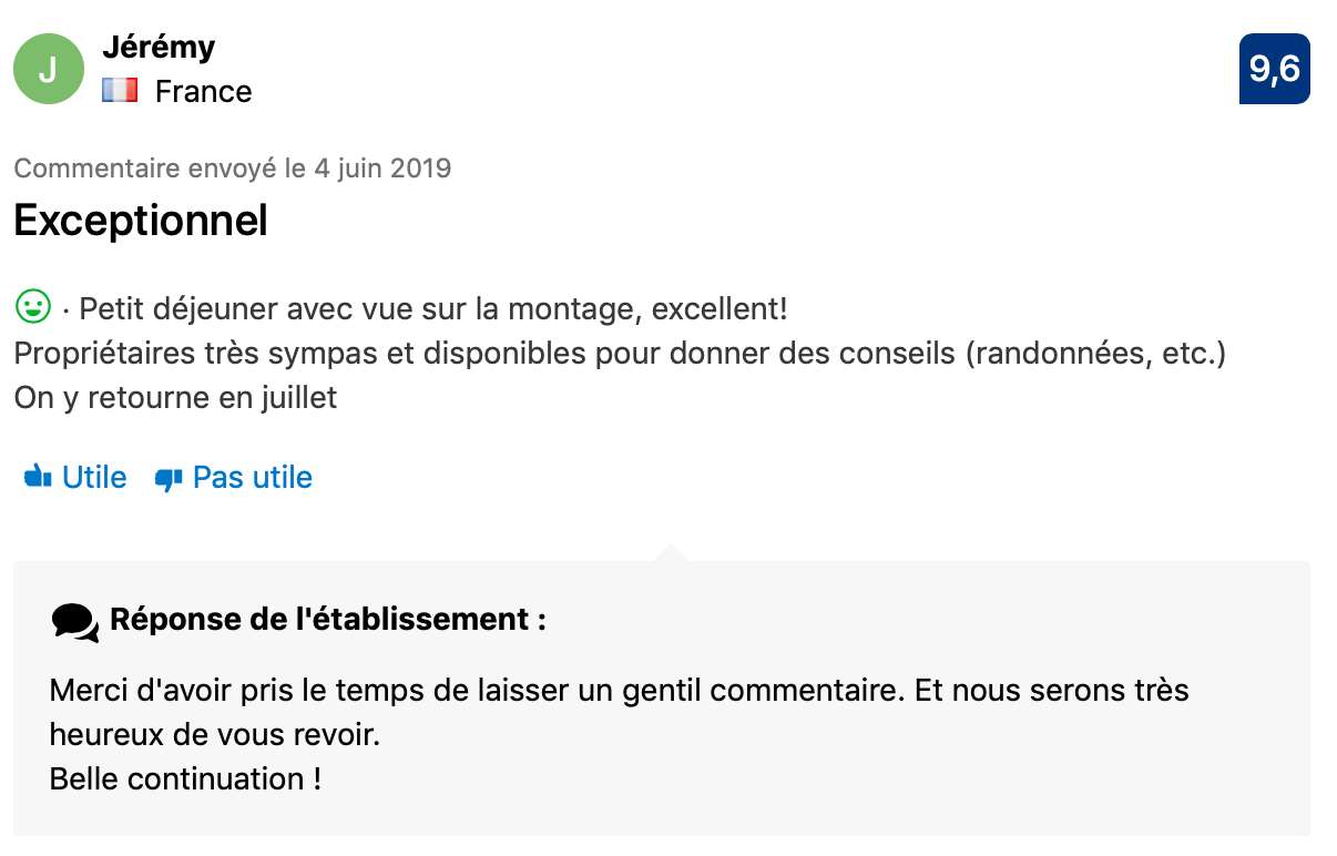 Commentaire Booking 2
