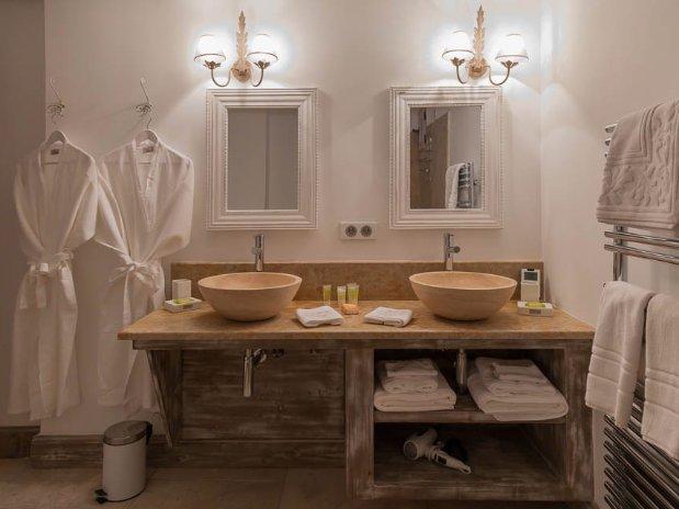 salle de bain bastide maison hôtes luxe provence