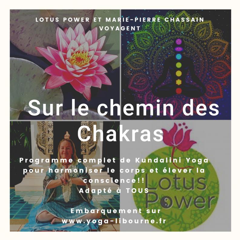 Programme Sur le Chemin des Chakras