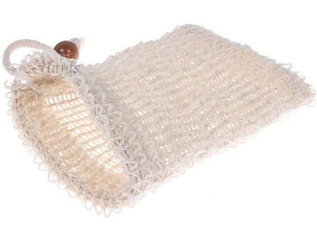 Gant en sisal - les trésors de valérie - gommage de la peau - Moselle