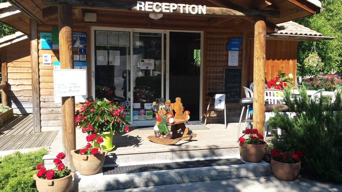 reception Camping de Retourtour Lamastre Ardèche