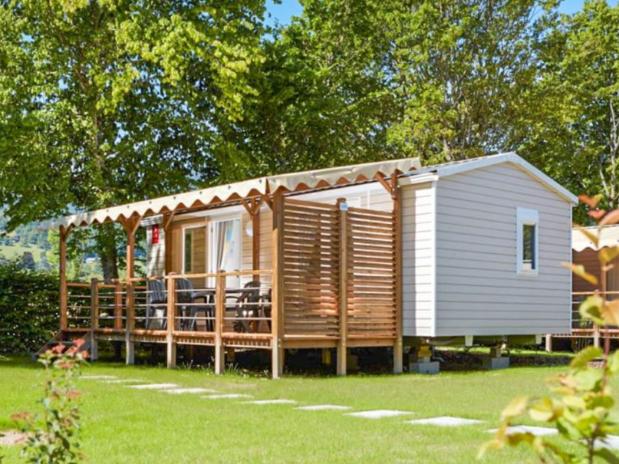 loggia confort + camping familial Isère nature parc aquatique