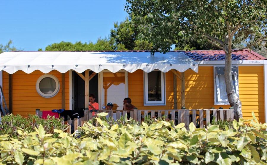 espace premium + camping familial meze plage piscine