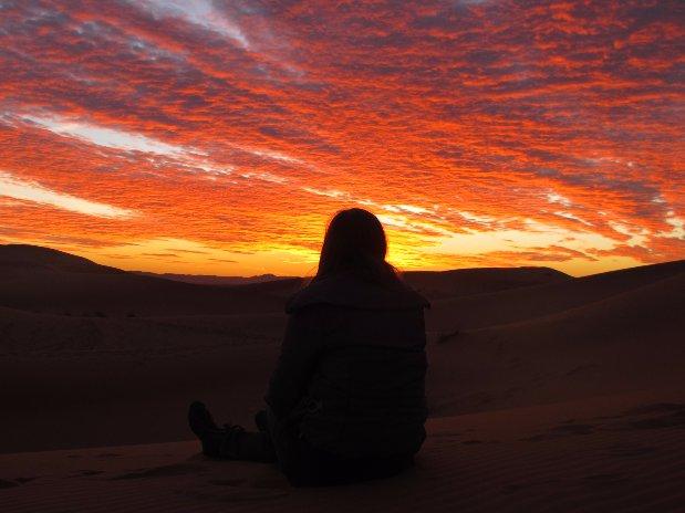 Dunes Khaimas Oasis Desert