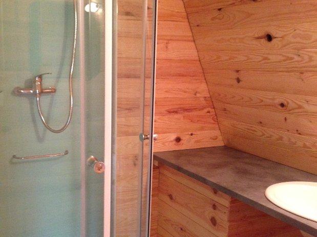 salle de bain chalets