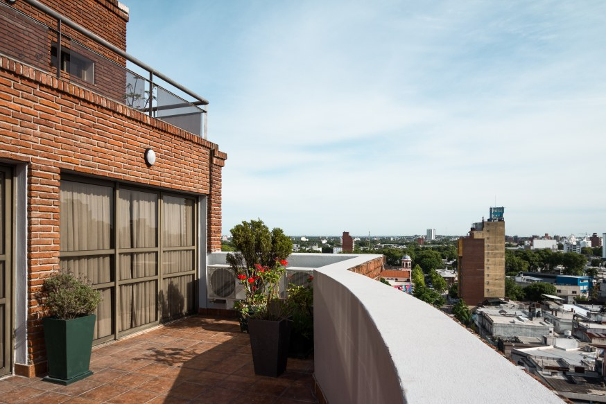 Terraza - Days Inn Montevideo 2019