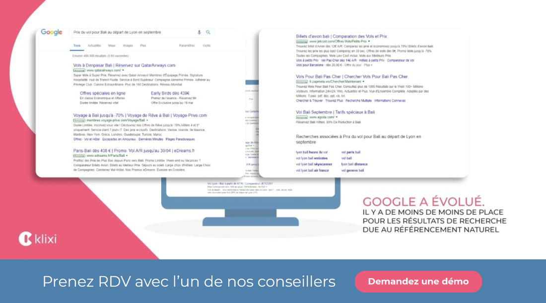 publicité en ligne Google ads
