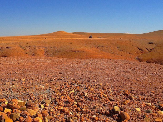 désert d'agafay