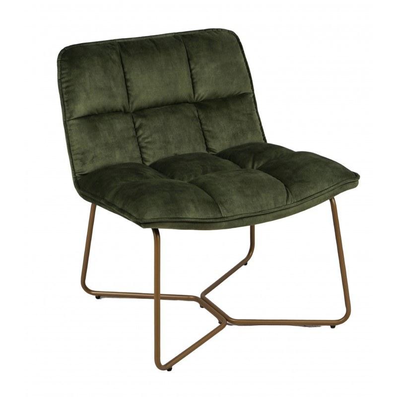 fauteuil vert mousse