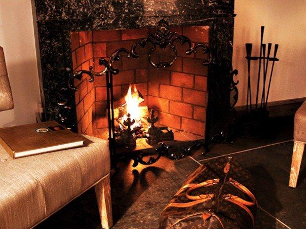 Suite cheminée chambre hôtes luxe provence