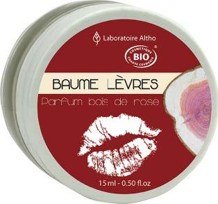 baume à lèvres bois de rose - Les Trésors de Valérie - Frauenberg - Moselle