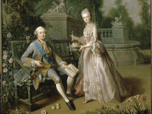 Monsieur de Penthièvre et sa fille