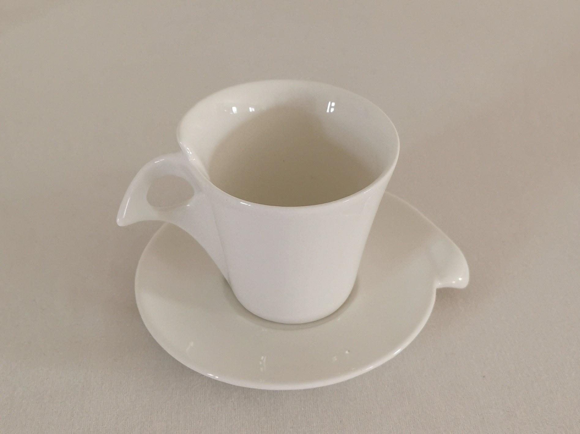 tasse à café expresso blanc 2