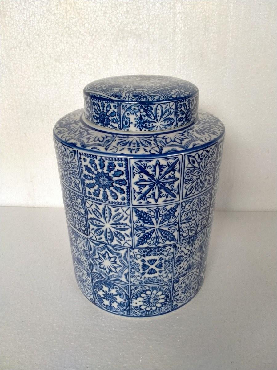 pot céramique azulejos GM.
