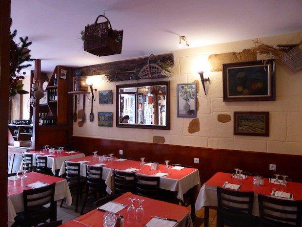 restaurant Saint Michel Paris salle