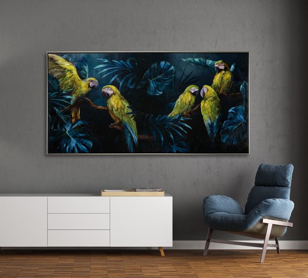 tableau perroquet 1