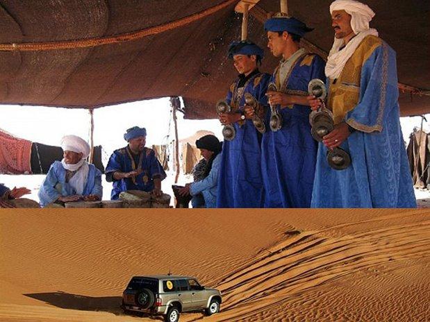 MUSICIANS desert hotel kanz erremal