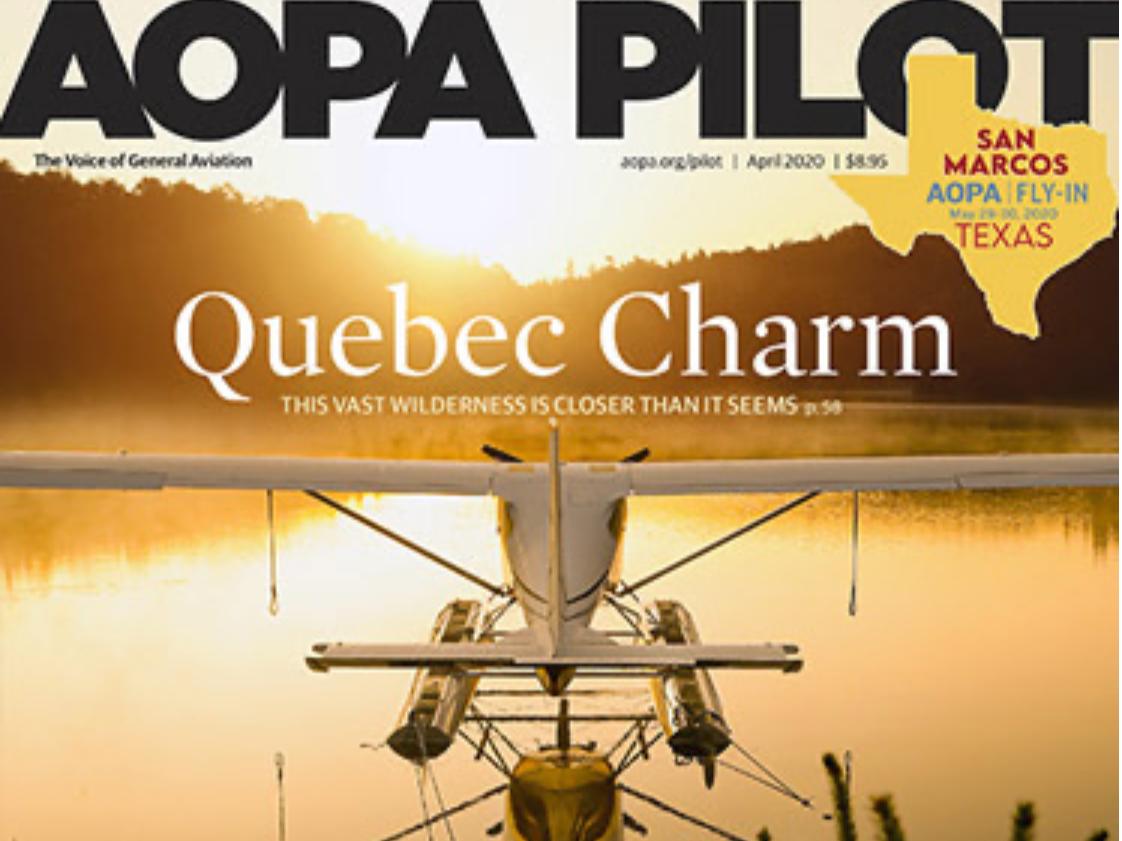AOPA Magazine April 2020