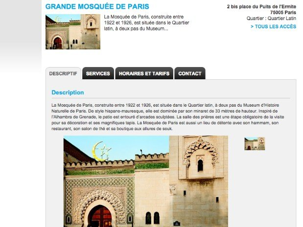 paris 13 - hotel - kyriad - mosque
