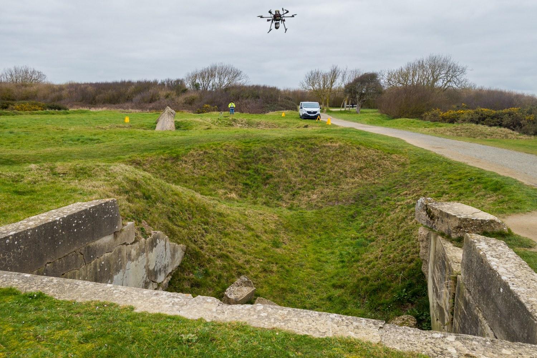 lidar-topographie-imagerie-aerienne-archéologie-point-du-hoc