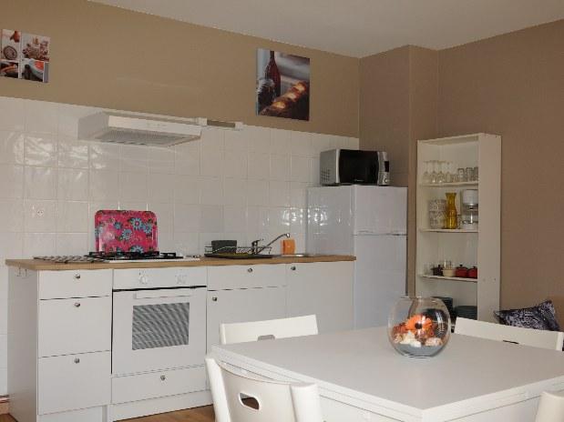 chalet salon séjour cuisine