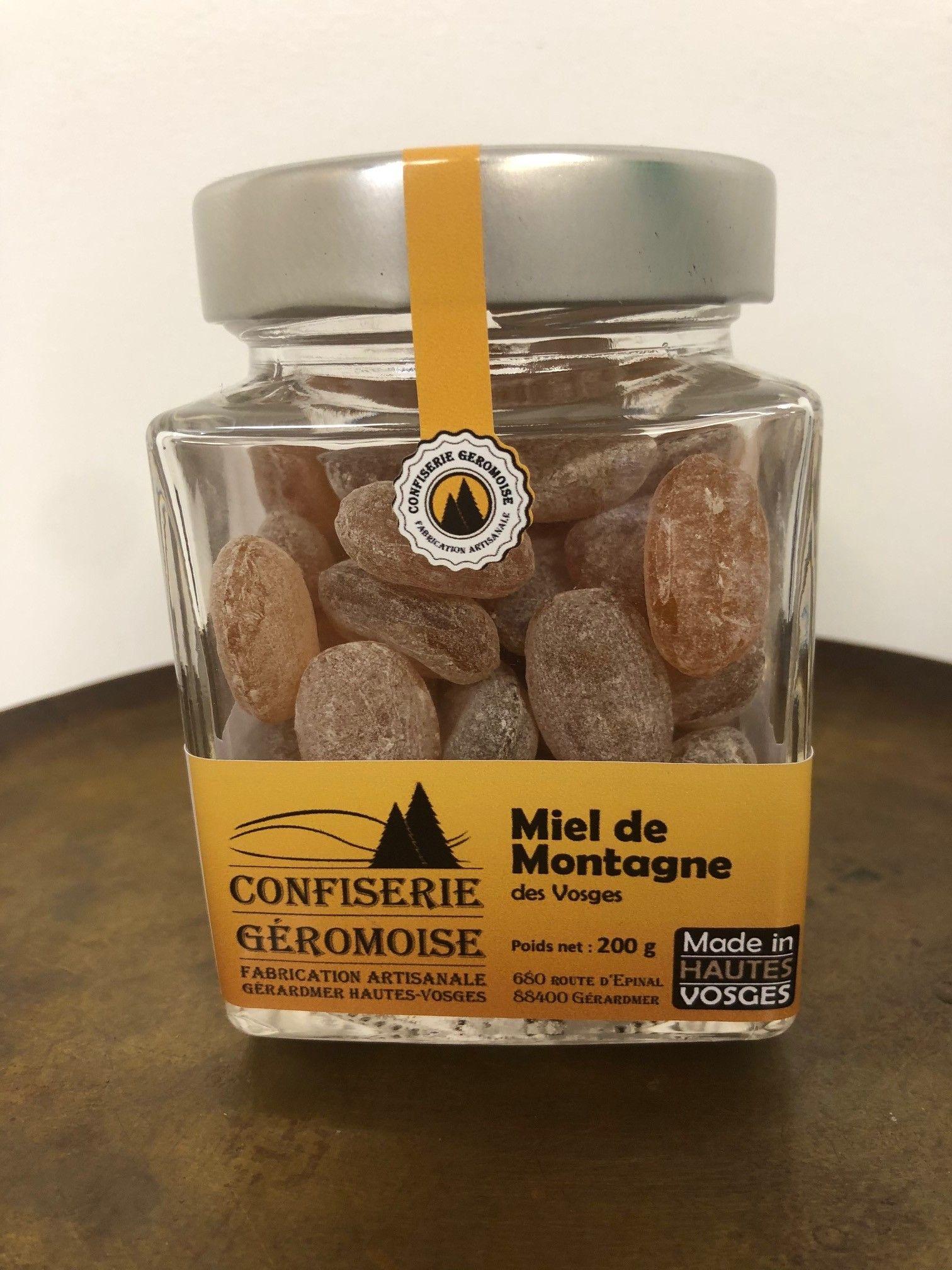 produit-de-la-ruche-hatier-frère-Bonbon-miel-de-montagne-200gr