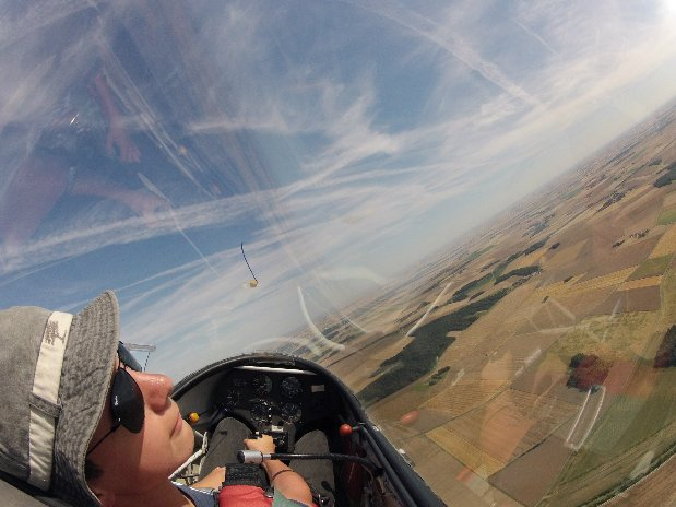 first glider flight