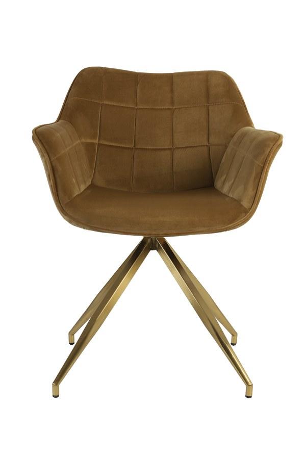 chaise jaimy caramel 2