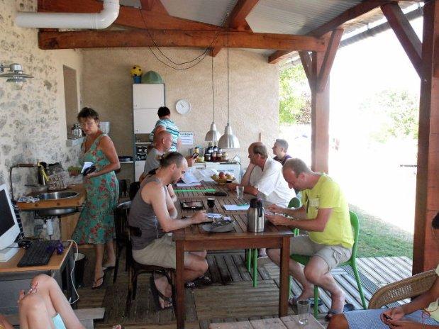 Camping Le Clapas WiFi-café
