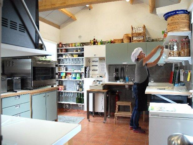 camping Le Clapas restaurant Cla-pasta the kitchen