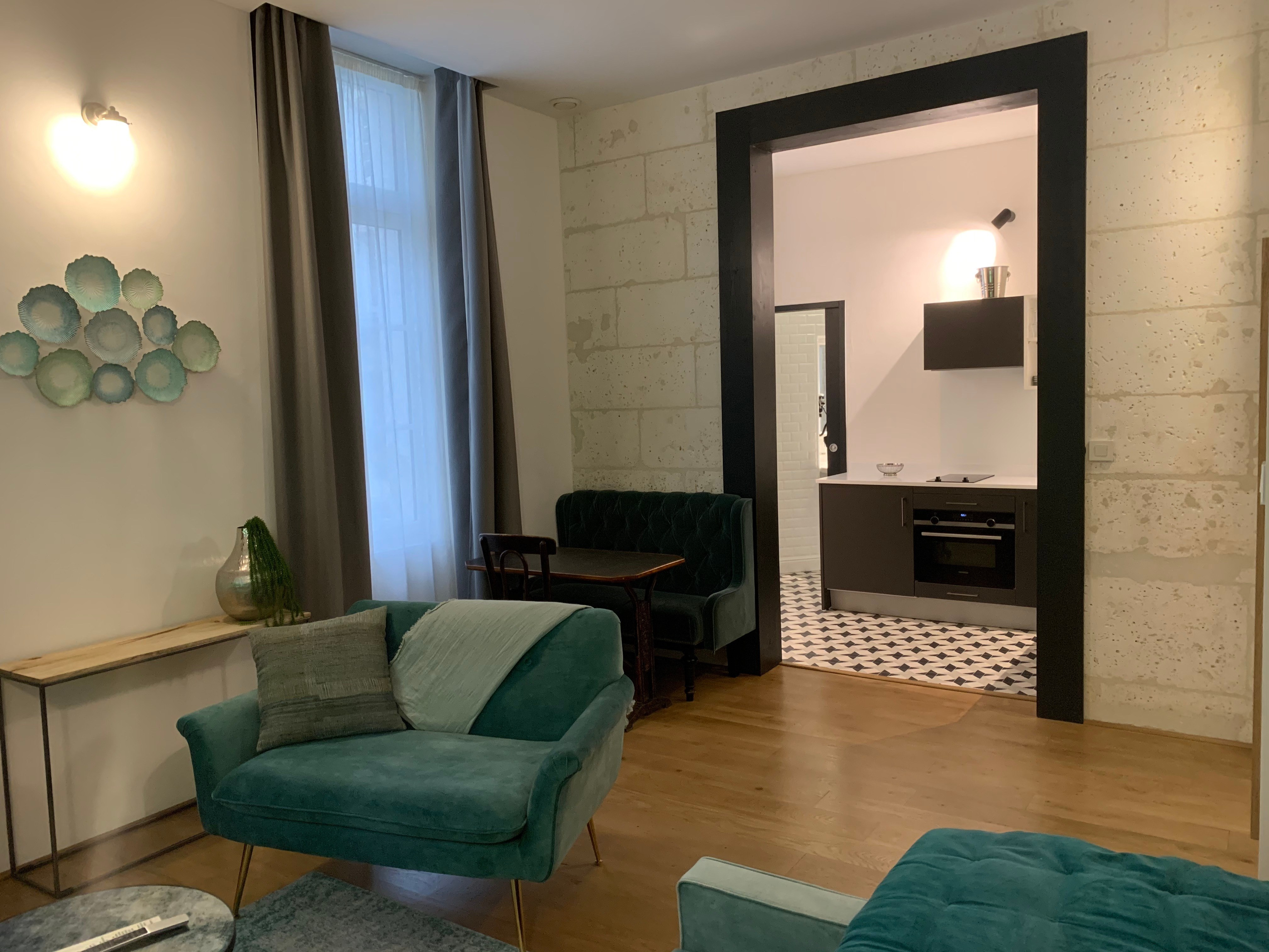 appart-hotel-angouleme-studio-paon-coin repas
