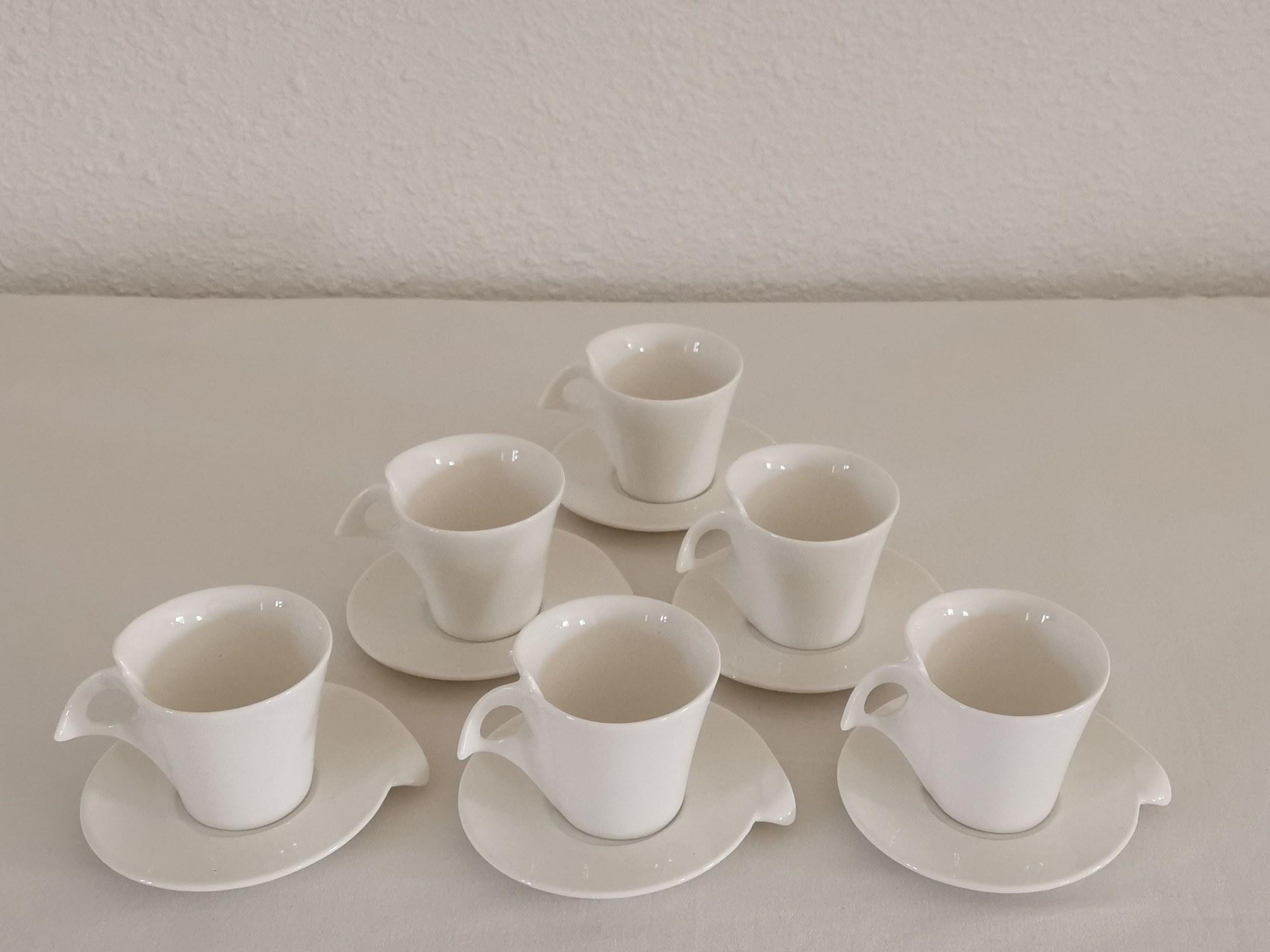 tasse café expresso blanc couleurs d'hélène