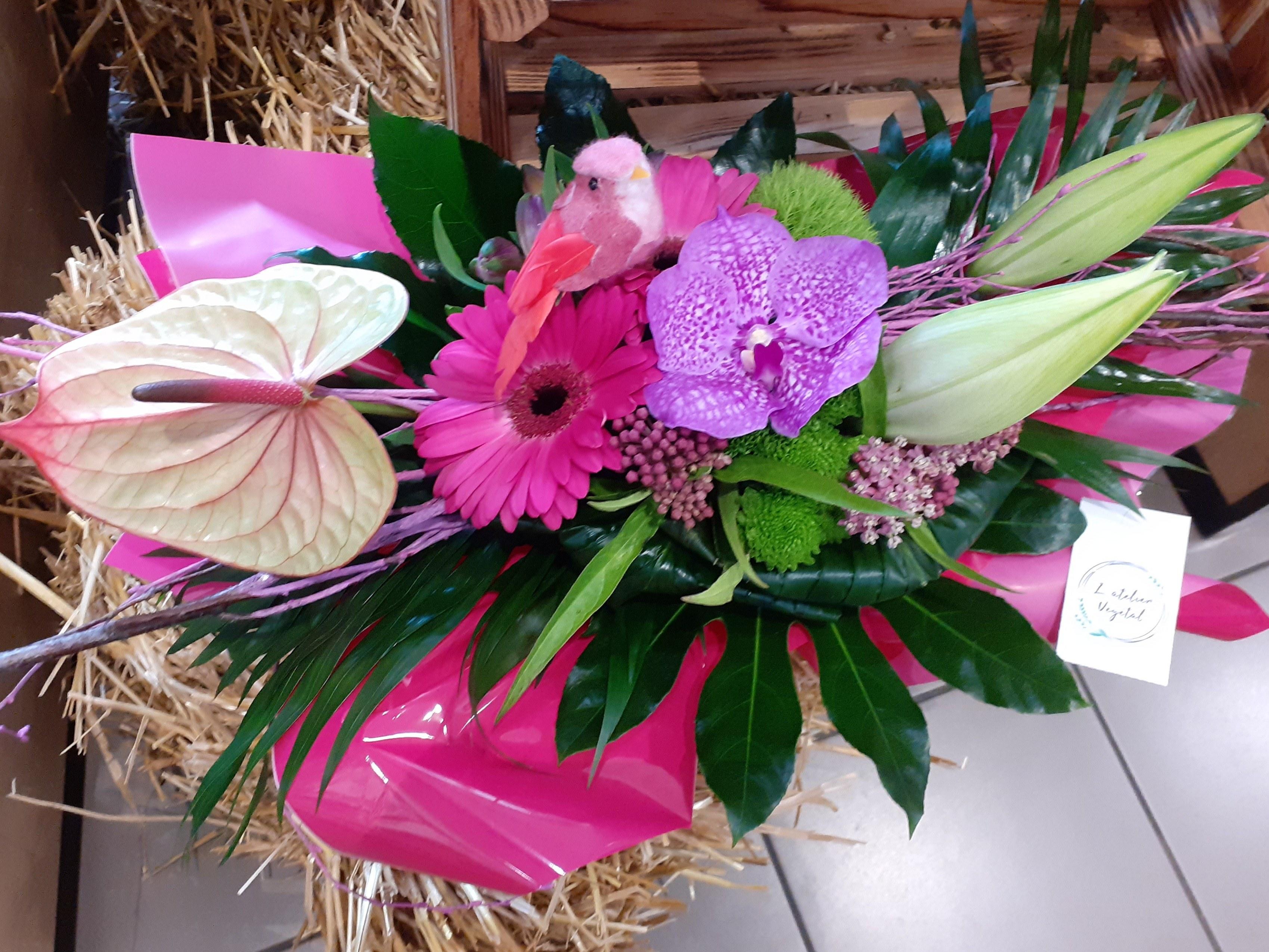 Bouquet fuschia