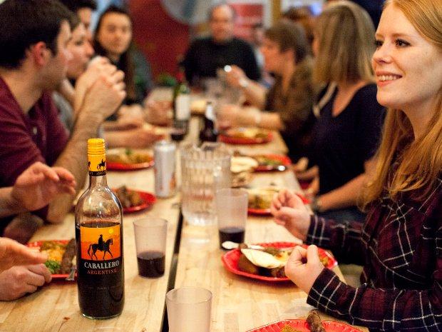 souper à l'Auberge Gîte du Plateau Mont-Royal