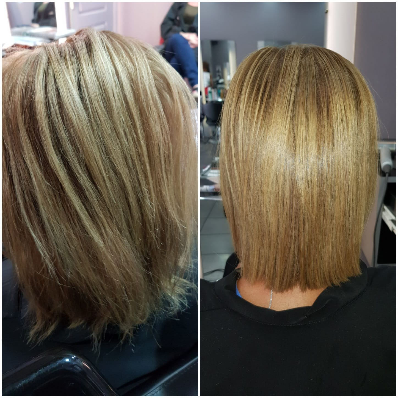 Photo de coiffure femme cheveux courts