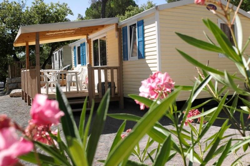 mobil-home résidentiel