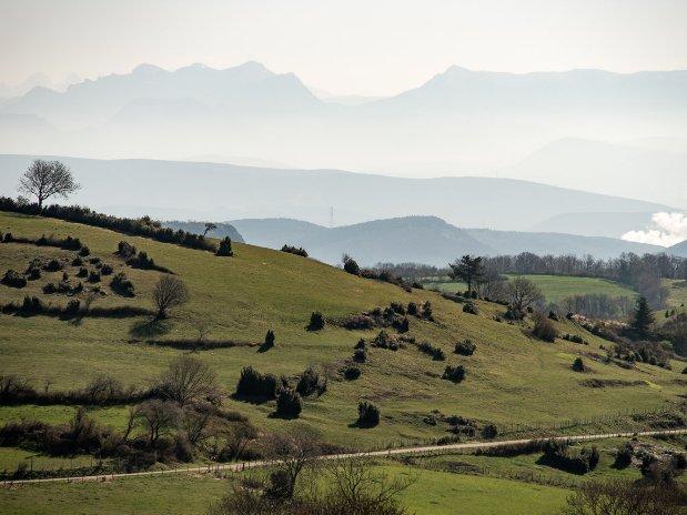 Coiron-vue Vercors-et Alpes-Ardèche