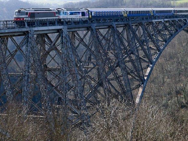 spoorbrug Viaduc de Viaur