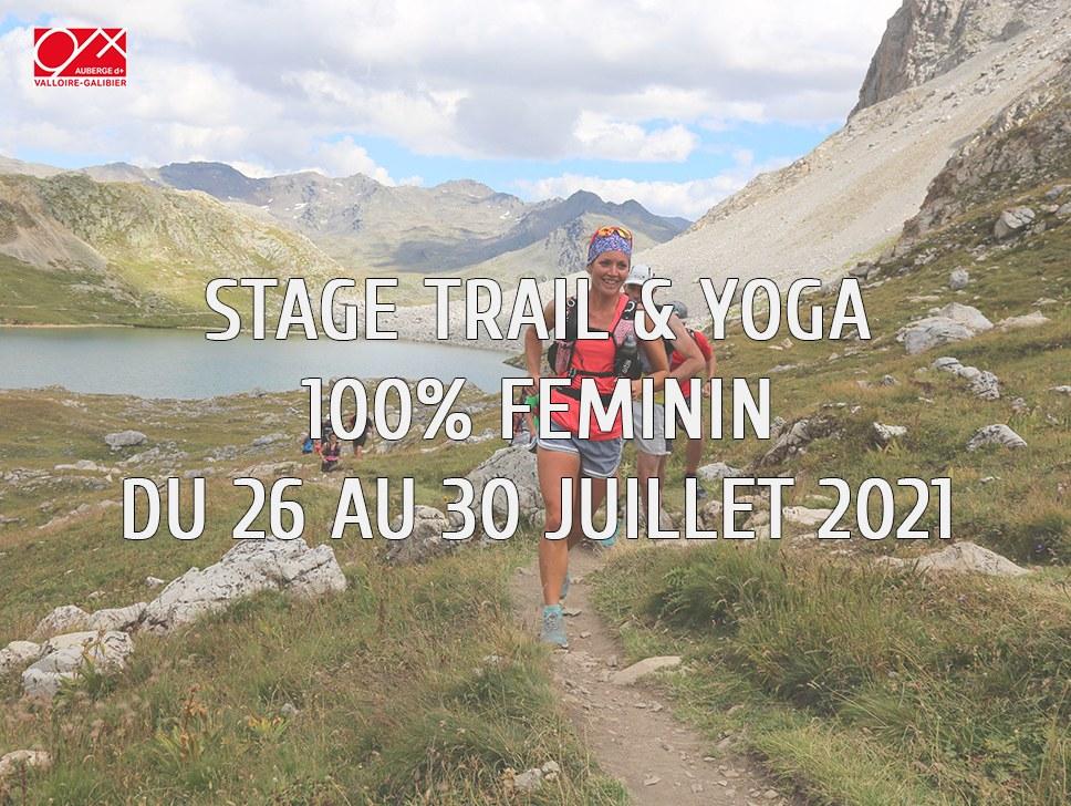 Stage trail JUILLET