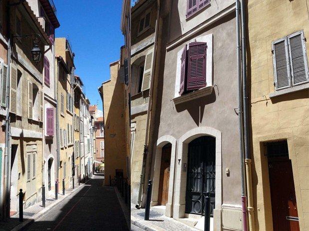 Facade Maison Boa Marseille Panier