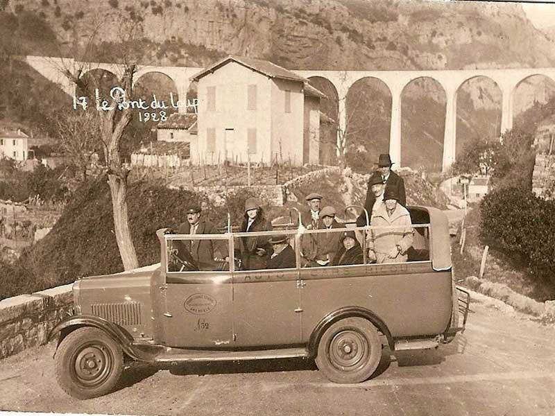 Promenade en 1928