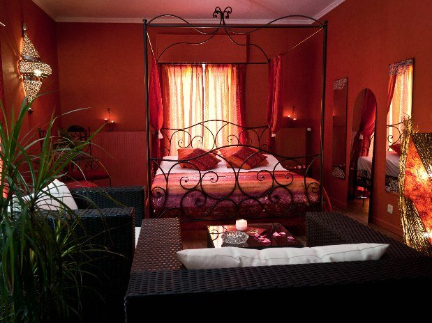 La chambre orientale v i p chambre avec salle de Chambre orientale