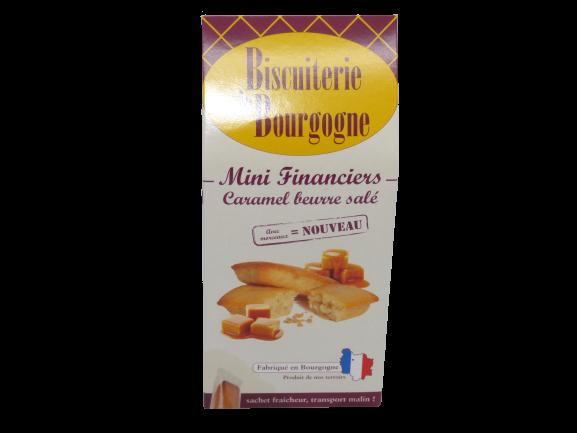 Mini Financiers Caramel beurre salé