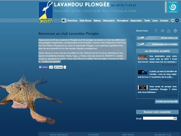 Lavandou plongée - scuba diving - hotel anglade