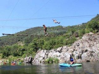 canyoning Eyrieux Sport camping de retourtour 4 etoiles ardeche riviere piscine