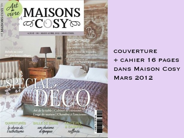 Maison Cosy Mars 2012