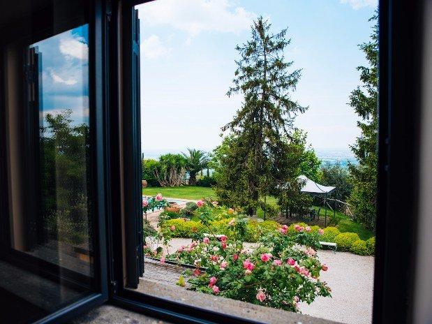 Rifugio di Cora Appartamenti Castello Santa Margherita Vista giardino