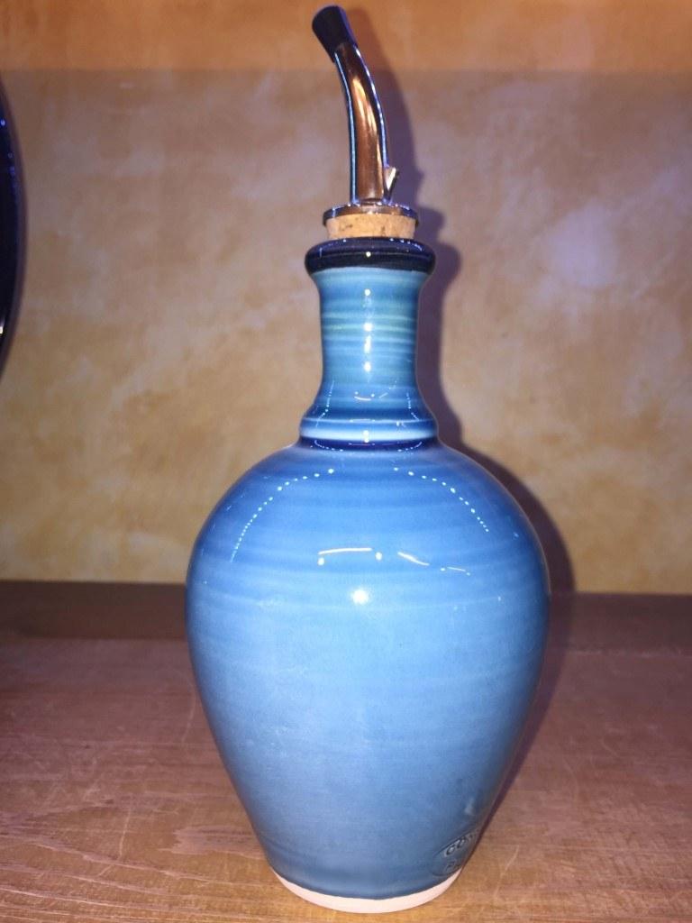 Huilier bleu